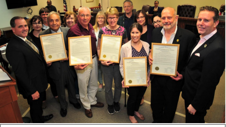 Essex County Freeholders Honor the Historical Societies of Five Townships