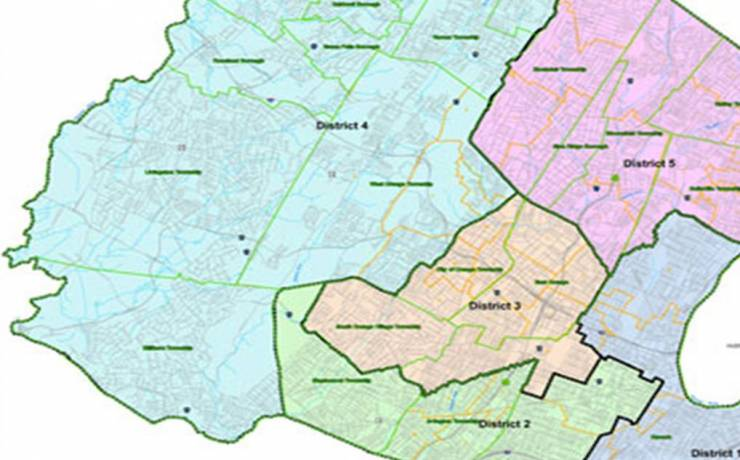 Freeholders Districts