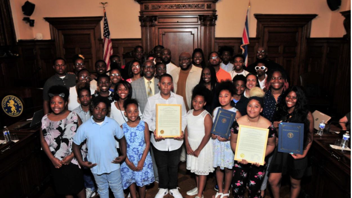 ESSEX COUNTY FREEHOLDERS HONOR WEEQUAHIC HIGH SCHOOL MARCHING BAND FOR WINNING 2019 ORLANDO ALLSTAR MUSIC FESTIVAL