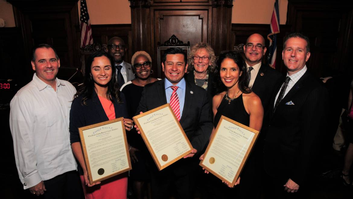 ESSEX COUNTY FREEHOLDERS CELEBRATE HISPANIC HERITAGE MONTH