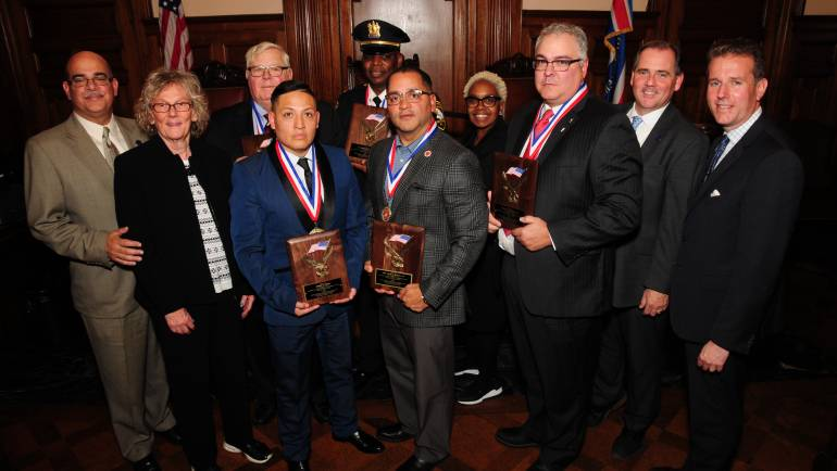 ESSEX COUNTY FREEHOLDERS CELEBRATE VETERANS DAY