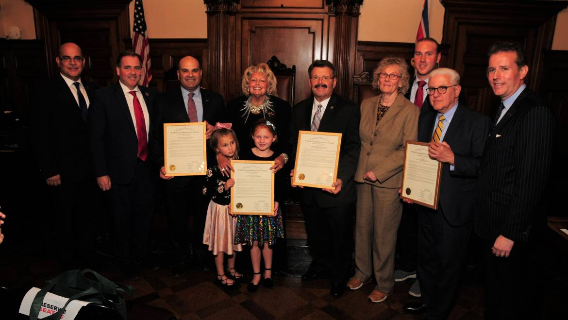 ESSEX COUNTY FREEHOLDERS CELEBRATE ITALIAN HERITAGE MONTH