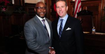 ESSEX COUNTY FREEHOLDERS RE-ELECT BRENDAN W. GILL PRESIDENT & WAYNE L. RICHARDSON VICE PRESIDENT FOR 2020