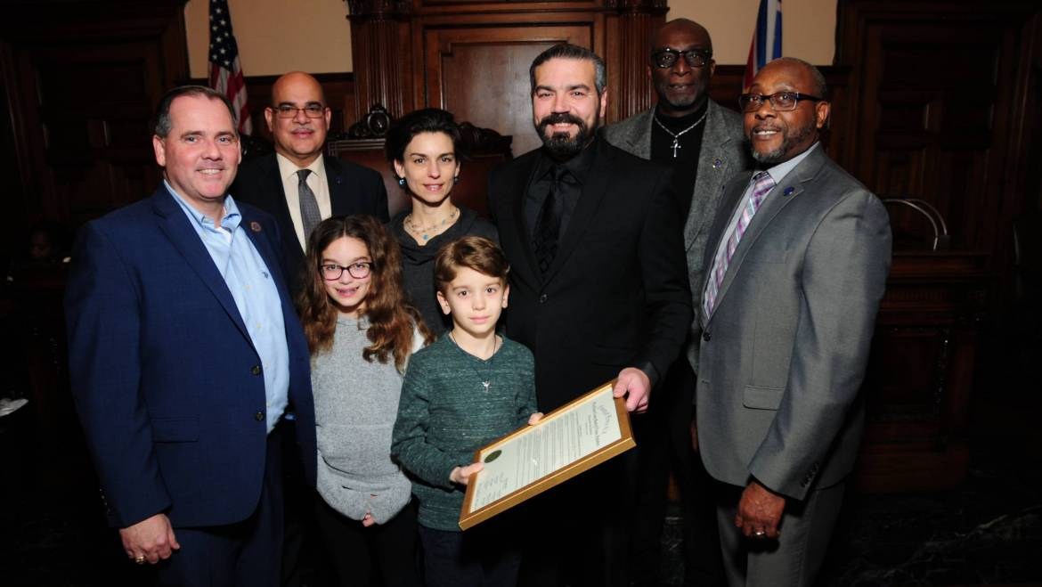 ESSEX COUNTY FREEHOLDERS HONOR TOM RYAN FOR HIS ACCOMPLISHMENTS IN THE INDEPENDENT FILM INDUSTRY