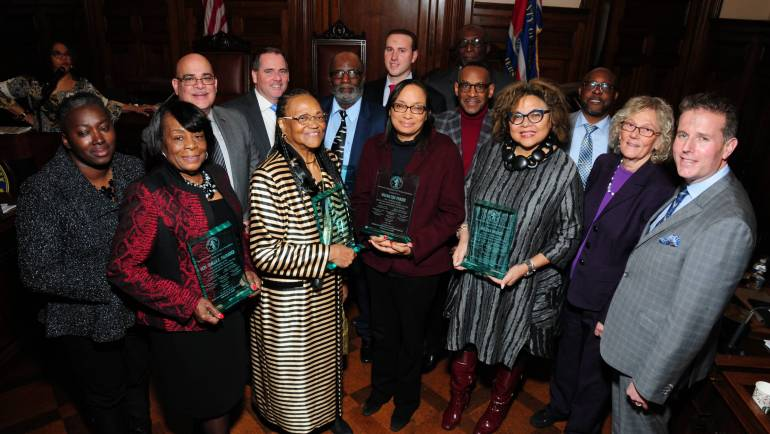 ESSEX COUNTY FREEHOLDERS CELEBRATE AFRICAN-AMERICAN HERITAGE MONTH